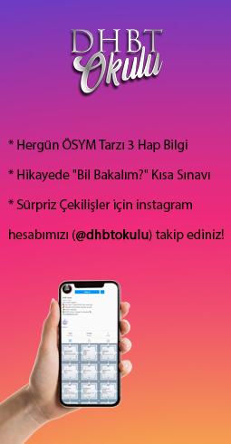 DHBT Okulu - Instagram Hesabı